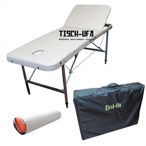 трехсекционный массажный стол