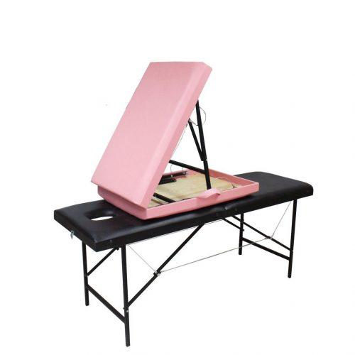 Массажные столы и кушетки на стальных ножках